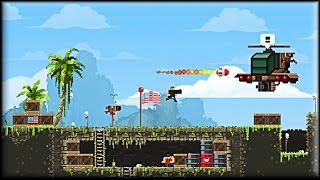 Broforce Game (1-5 areas)