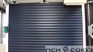 видео Рулонные ворота для гаража