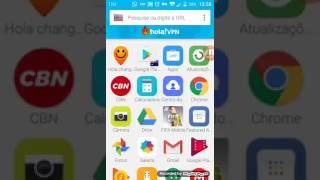 Como baixar o PES 2017 mobile direto pela play store pelo app vpn
