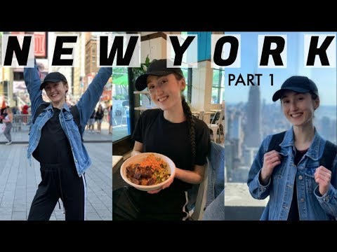 MY FIRST TIME IN AMERICA | NEW YORK TRAVEL VLOG (Part 1)