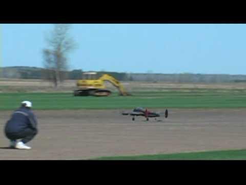 Lancaster Crashes On Maiden Flight