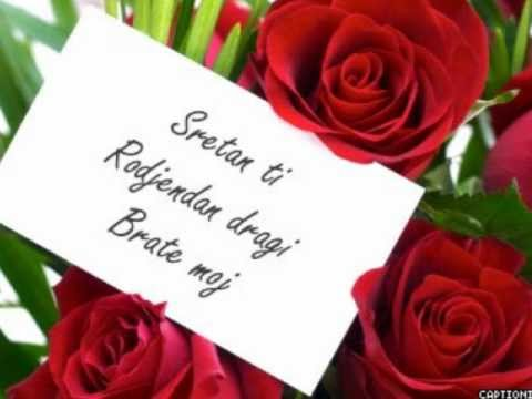 čestitke za rođendan za brata Sretan ti Rodjendan dragi Brate moj (Demo Rakic)   YouTube čestitke za rođendan za brata