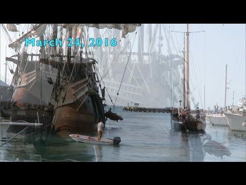 Key West's Historic Seaport: El Galeon and Hokule'a