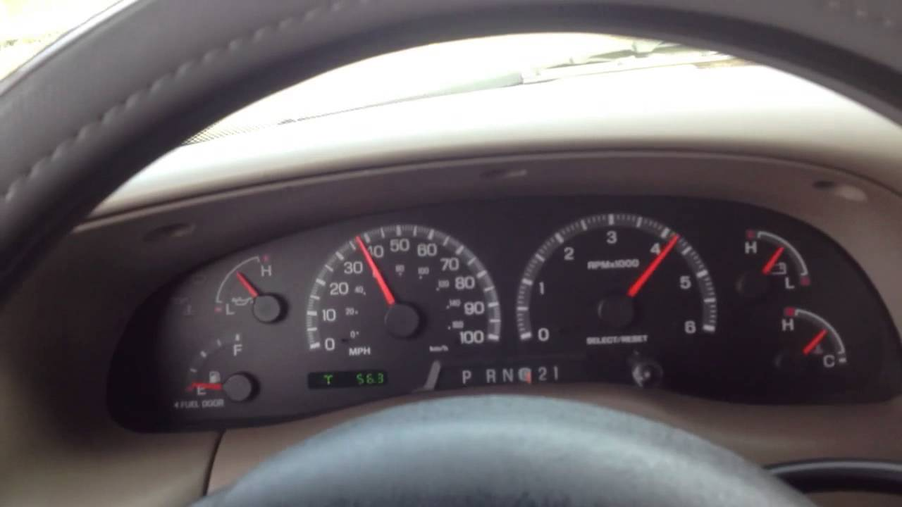 00 f 150 v8 5 4 0 60 mph run