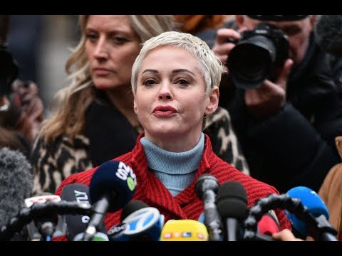 Rose McGowan calls out Natalie Portman for 'deeply offensive' Oscar dress covered with names of snub