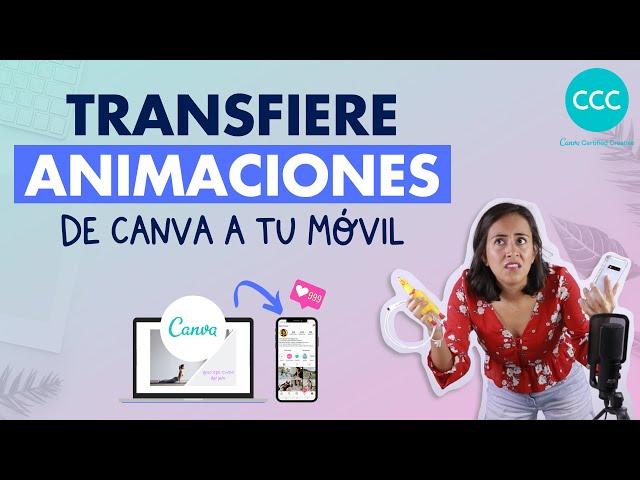 Cómo transferir las animaciones de Canva a Instagram (5 formas diferentes) | Aprende con Diana Muñoz