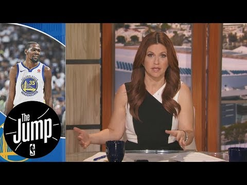 Kevin Durant has arguably become Warriors' strongest defensive weapon | The Jump | ESPN