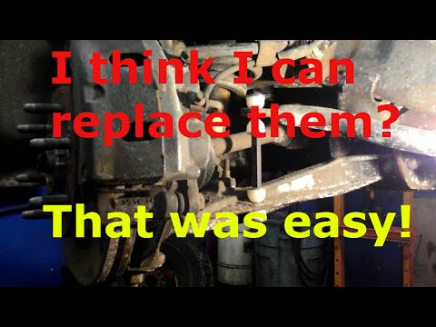 How to replace the sway bar links on a Chevy Tahoe