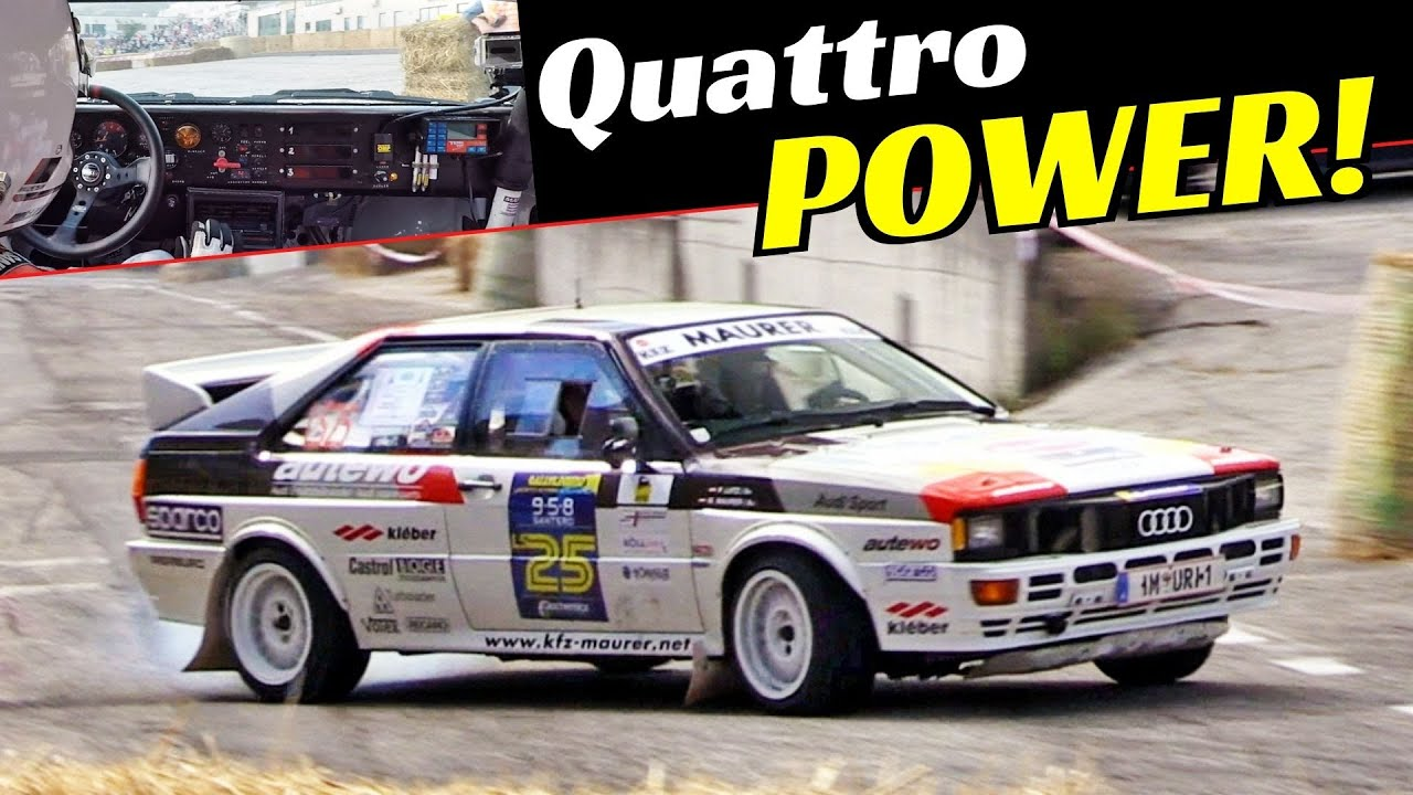 "Audi Quattro Gr 4 Rally Show! - Marco Maurer/Patrik Lutz ""The Legend"" OnBoard at 2020 RallyLegend"