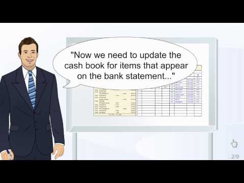 How to Prepare a Bank Reconciliation Part 1