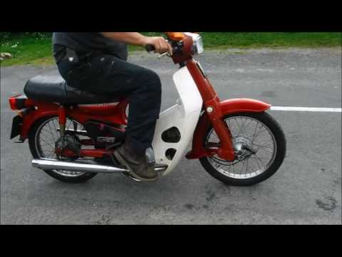 honda cub 90 retro 1986 scooter collectors cool sold by youtube. Black Bedroom Furniture Sets. Home Design Ideas