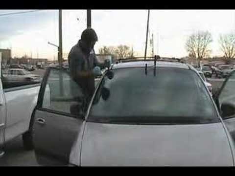 Windshield Removal To Install New Windshield Youtube