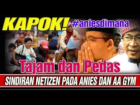 Waduh! Aa Gym dan Anies Baswedan Dapat Sindiran dari Netizen Nih!