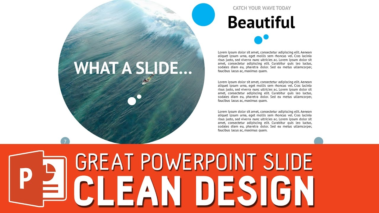 how to design a great powerpoint slide no matter how much text you