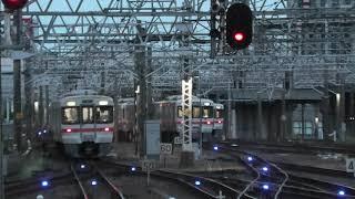JR東海 朝の名古屋駅で見られる313系同時発車