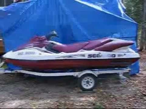 How to winterize a two stroke seadoo jetski