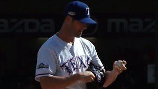 Плей-офф MLB. Полуфинал Американской Лиги: Техас Рейнджерс - Торонто Блю Джейз. Матч 1 (6.10.2016)