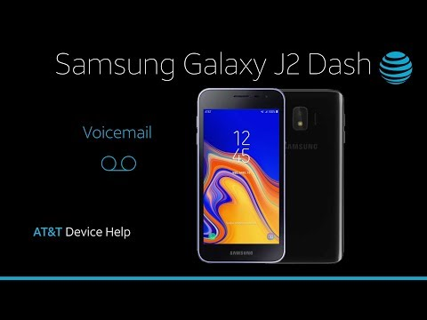 Voicemail on your Samsung Galaxy J2 Dash | AT&T Wireless