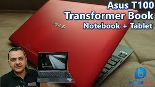 Asus Transformer Book T100 - Notebook + Tablet!