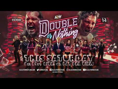 Watch AEW's Double Or Nothing LIVE This Saturday, May 25th