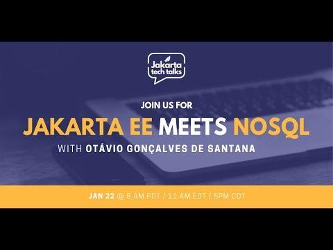 Jakarta EE Meets NoSQL | Jakarta Tech Talks