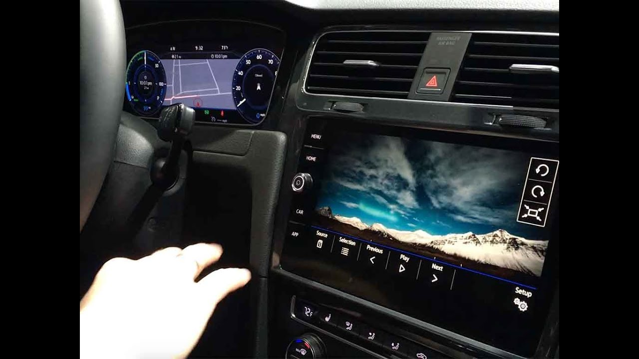 Volkswagen E Golf Touch Debut At CES Las Vegas 2016 YouTube