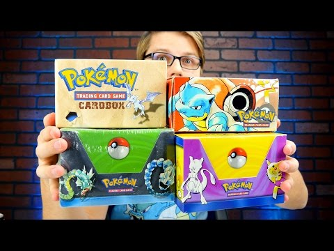 Base Set Deck Boxes - Pokemon TCG Unboxing