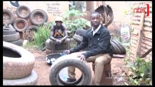 Hustling for Survival: Making Sandles out of Tyres