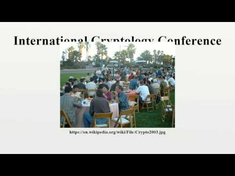 International Cryptology Conference