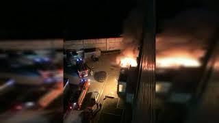В Оренбурге на улице 60 лет Октября ночью сгорел автомобиль «Кия»