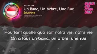 """[1971] Séverine - """"Un Banc, Un Arbre, Une Rue"""" (Monaco)"""