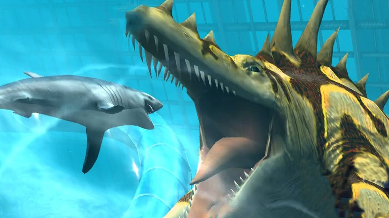 TYLOSAURUS MAX LEVEL 40 - NEW VIP AQUATIC DINO - Jurassic ...