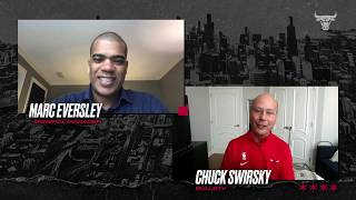 FULL INTERVIEW: Marc Eversley Q&A with Bulls fans | Chicago Bulls