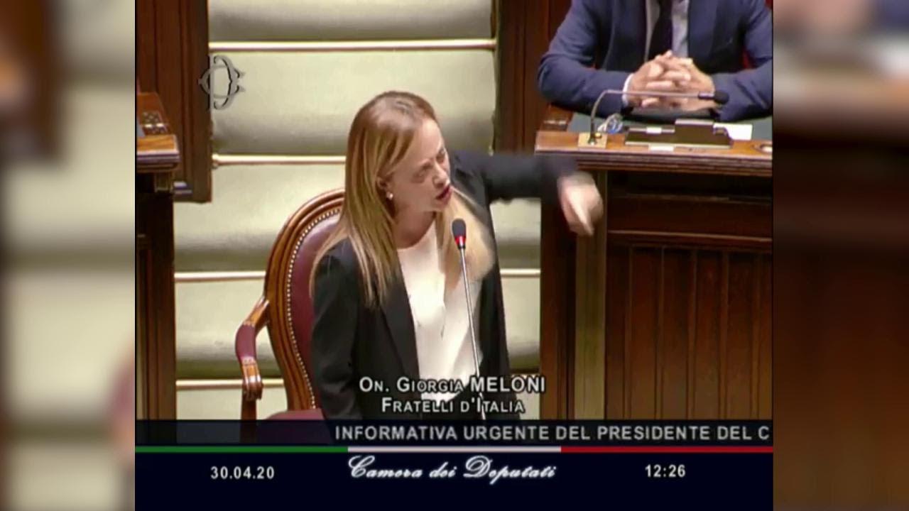 Meloni: mentre gli italiani sono chiusi a casa il governo fa uscire di galera mafiosi e criminali