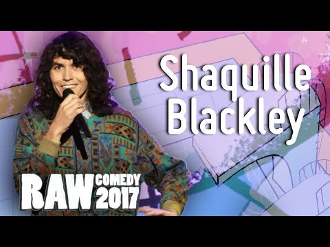 Shaquille Blackley (WA) - Runner-up RAW Comedy National Grand Final 2017