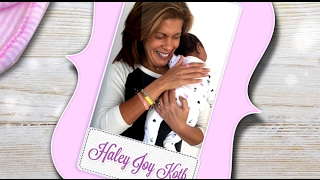 Surprise! Hoda Kotb Announces She's Adopted Baby Girl by : MrTreknation