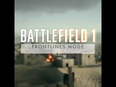 Frontlines Mode Trailer | Suez Map | - Battlefield 1
