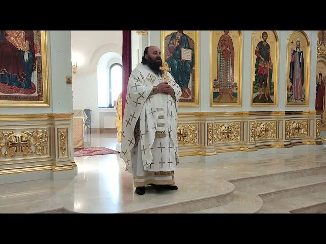 Проповедь епископа Наро-Фоминского Парамона в воскресный день 10.10.2021