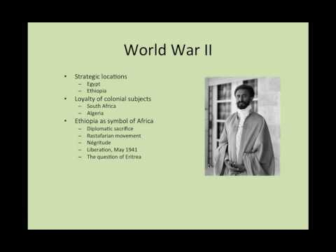 Flagler College HIS 363 Modern Africa: World War II and Aftermath