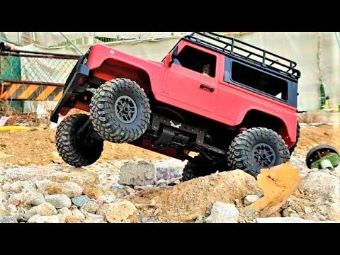 RC Car MN-90 1/12 4WD Defender Truck RTR Off-Road TEST