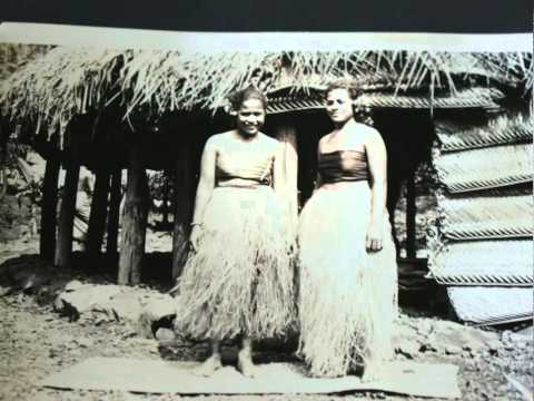 Vintage 1930's American Samoa Photo Album