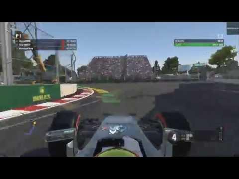 F1 2016: Baku Hotlap (Time Trial, Mercedes - Azerbaijan)