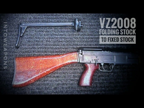 VZ2008: Changing Folding to Fixed Stock (vz.58)
