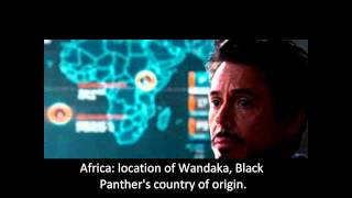 Iron man 2 easter eggs explanied (Black panther and Namor)