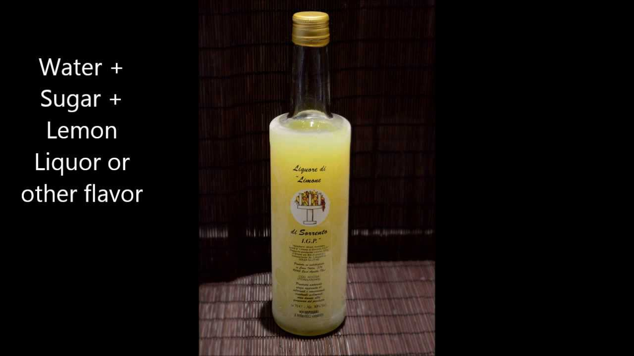 Bagna per torte al Limoncello - Lemon Syrup (Cake Moistener) by ...
