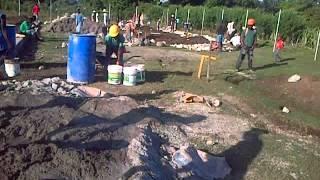 Hajica Initial Construction Sept 12, 2013