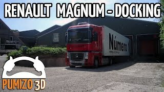 RENAULT MAGNUM Docking (VERY NICE HD CAMERA ANGLES)