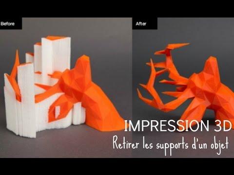retirer les supports lit impression 3d youtube. Black Bedroom Furniture Sets. Home Design Ideas
