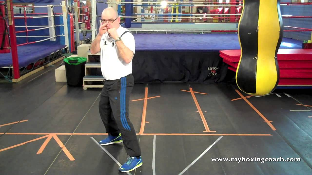 Boxing Footwork Explained The Angled Side Step Youtube