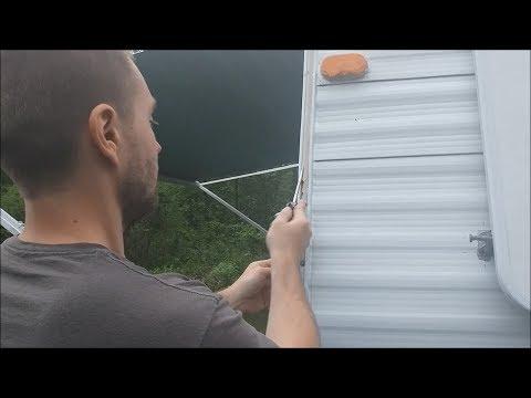 Replacing RV Camper Molding Trim Vinyl Rubber RV Designer